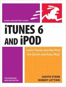 iTunes 6 and iPod for Windows and Macintosh: Visual QuickStart Guide-cover