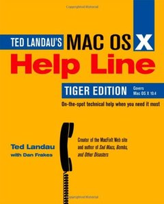 Mac OS X Help Line, Tiger Edition-cover
