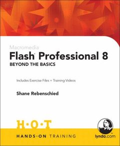 Macromedia Flash Professional 8 Beyond the Basics Hands-On Training-cover