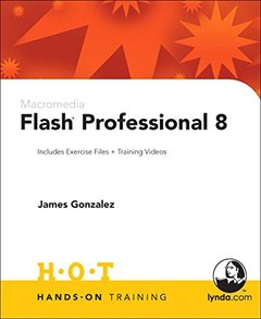 Macromedia Flash Professional 8 Hands-On Training-cover