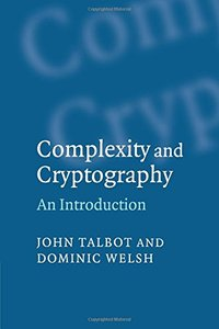 Complexity and Cryptography: An Introduction (Paperback)-cover