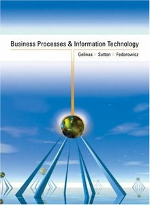 Business Processes and Information Technology-cover