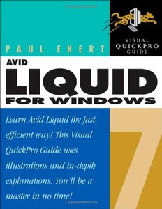 Avid Liquid 7 for Windows: Visual QuickPro Guide-cover