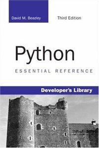 Python Essential Reference, 3/e-cover