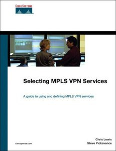 Selecting MPLS VPN Services (Hardcover)-cover
