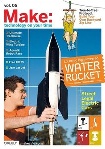 MAKE: Technology on Your Time Volume 05-cover