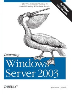 Learning Windows Server 2003, 2/e-cover