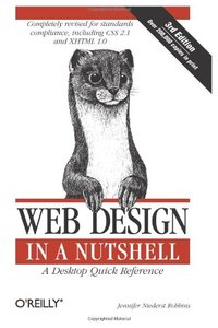 Web Design in a Nutshell: A Desktop Quick Reference, 3/e (Paperback)-cover