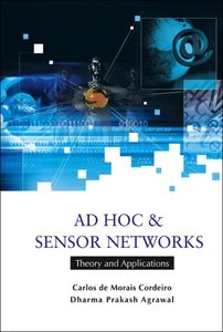 Ad Hoc And Sensor Networks: Theory And Applications (Paperback)-cover