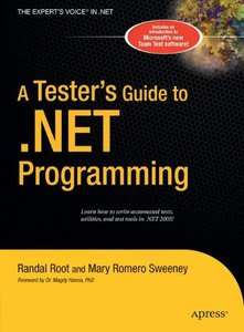 A Tester's Guide to .NET Programming (Hardcover)-cover