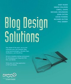 Blog Design Solutions (Paperback)