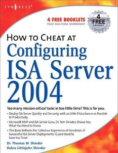 How to Cheat at Configuring ISA Server 2004 (Paperback)-cover