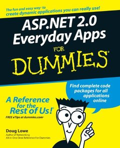 ASP.NET 2.0 Everyday Apps For Dummies-cover