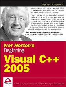 Ivor Horton's Beginning Visual C++ 2005 (Paperback)-cover