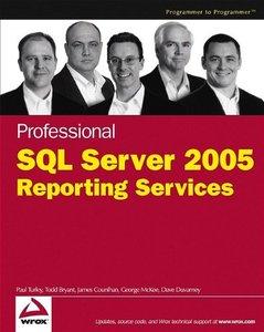 Professional SQL Server 2005 Reporting Services, 2/e (Paperback)-cover