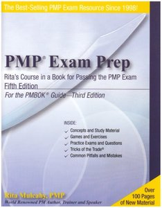 PMP Exam Prep: Rita's Course in a Book for Passing the PMP Exam, 5/e-cover