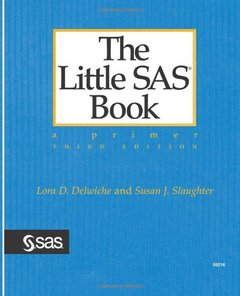 The Little SAS Book: A Primer, 3/e-cover