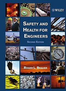 Safety and Health for Engineers, 2/e-cover