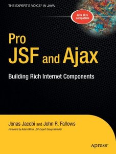 Pro JSF and Ajax: Building Rich Internet Components-cover