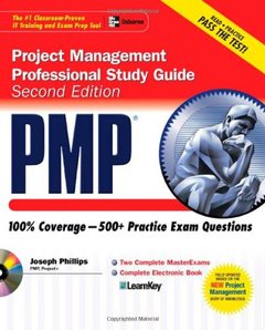 PMP Project Management Professional Study Guide, 2/e (Paperback)-cover