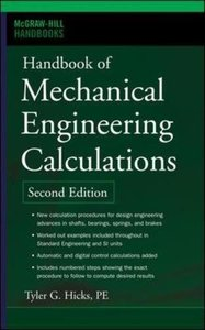 Handbook of Mechanical Engineering Calculations, 2/e-cover