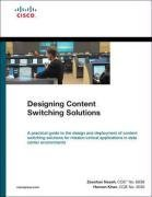 Designing Content Switching Solutions (Hardcover)-cover