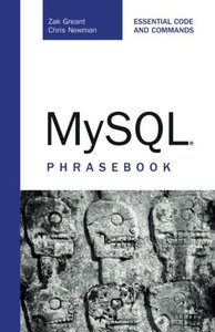MySQL Phrasebook (Paperback)-cover