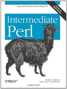 Intermediate Perl (Paperback)-cover