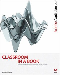 Adobe Audition 2.0 Classroom in a Book-cover