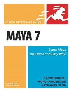 Maya 7 for Windows and Macintosh: Visual QuickStart Guide-cover