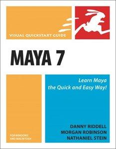 Maya 7 for Windows and Macintosh: Visual QuickStart Guide-cover