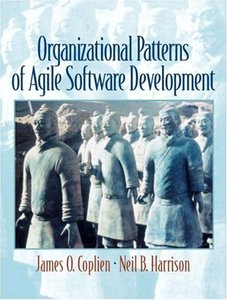 Organizational Patterns of Agile Software Development (Paperback)-cover
