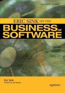 Eric Sink on the Business of Software-cover