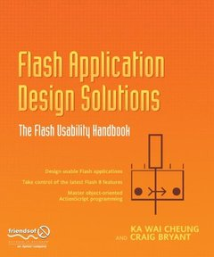 Flash Application Design Solutions: The Flash Usability Handbook (Paperback)-cover