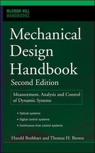 Mechanical Design Handbook, 2/e-cover