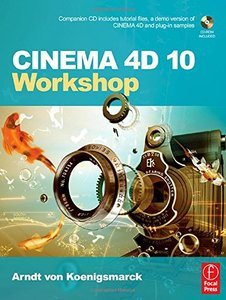 CINEMA 4D 10 Workshop-cover