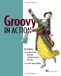 Groovy in Action (Paperback)-cover