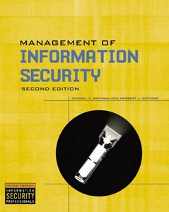 Management Of Information Security, 2/e-cover