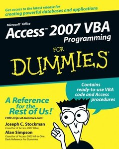 Access 2007 VBA Programming For Dummies-cover