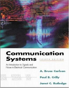 Communication Systems, 4/e-cover