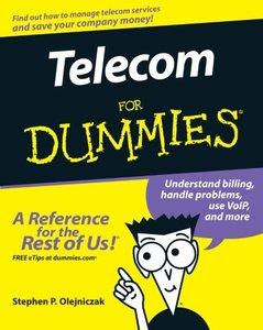 Telecom For Dummies-cover