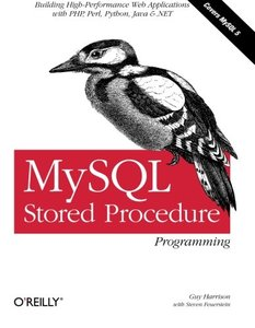 MySQL Stored Procedure Programming (Paperback)-cover