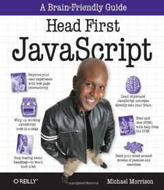 Head First JavaScript (Paperback)-cover