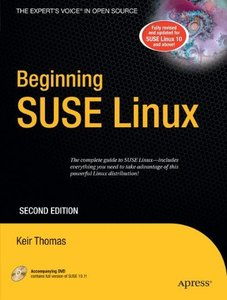 Beginning SUSE Linux: From Novice to Professional, 2/e (Paperback)-cover