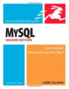 MySQL: Visual QuickStart Guide, 2/e (Paperback)-cover