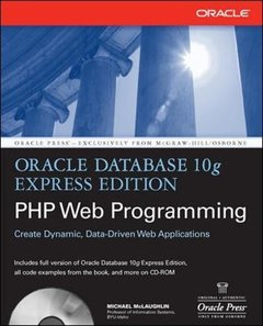 Oracle Database 10g Express Edition PHP Web Programming (Paperback)-cover