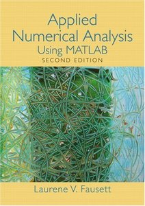Applied Numerical Analysis Using MATLAB, 2/e (Hardcover)-cover