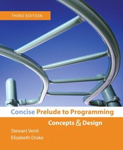 Concise Prelude to Programming, 3/e (Paperback)-cover