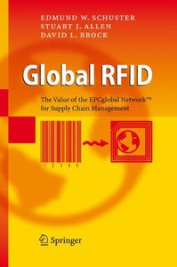 Global RFID: The Value of the EPCglobal Network for Supply Chain Management (Hardcover)-cover