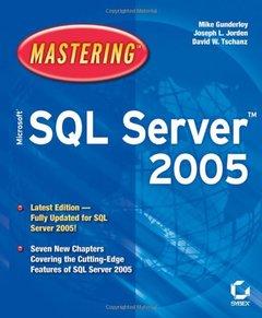 Mastering Microsoft SQL Server 2005 (Paperback)-cover